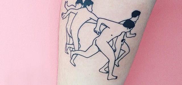 tatuiruotę
