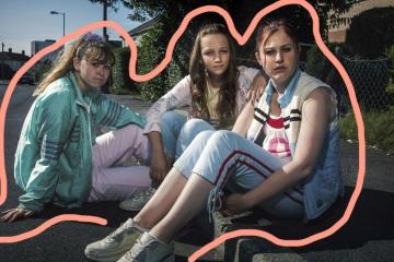 bbc serialas three girls